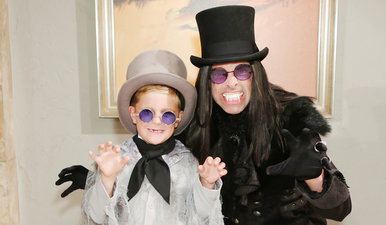 Johnny and Billy Halloween Young and Restless