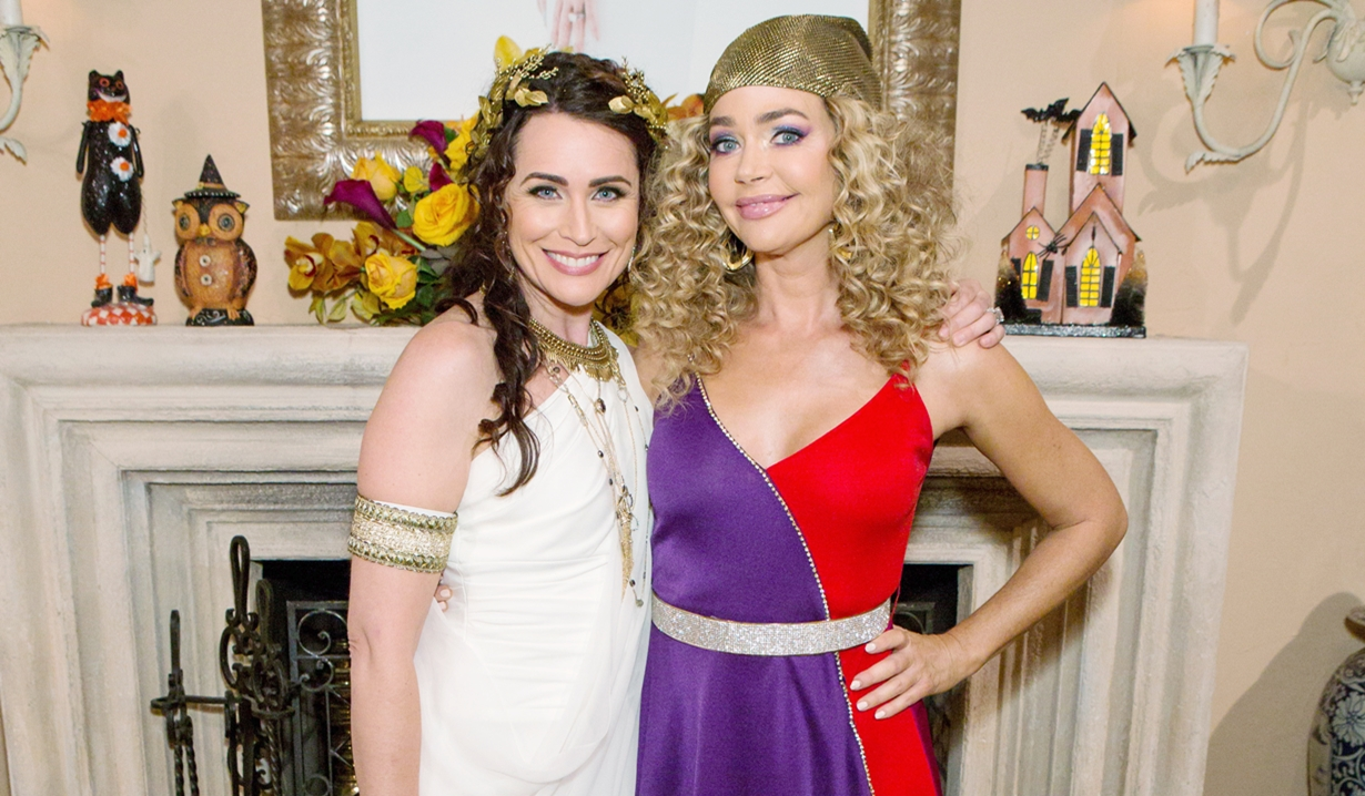 Quinn and Shauna Halloween Bold and Beautiful