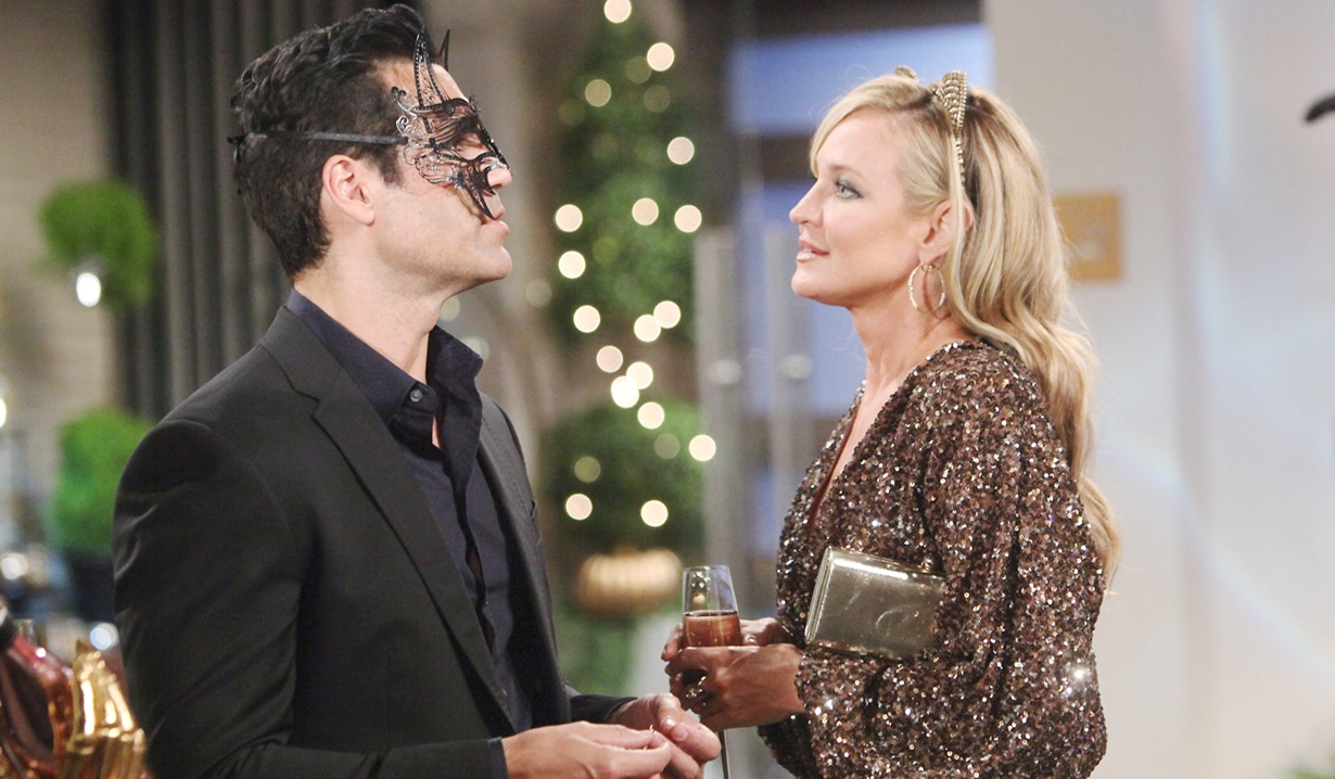 Rey and Sharon halloween Young and Restless