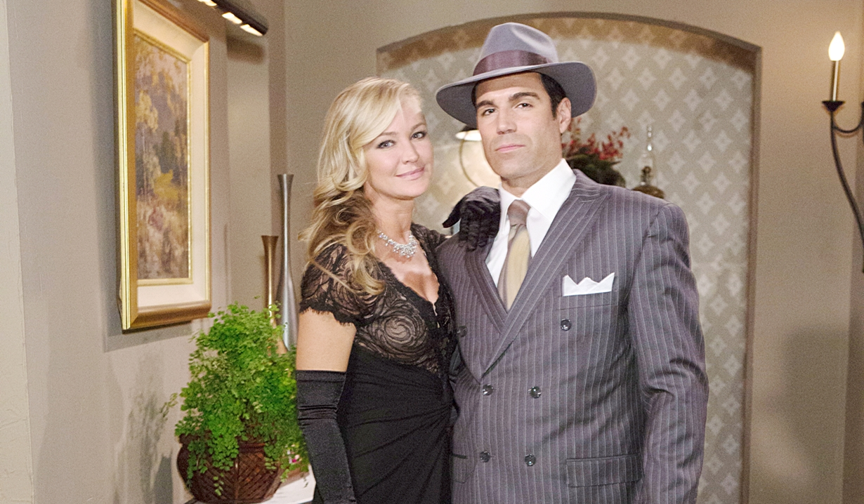 Sharon and Rey Halloween Young and Restless