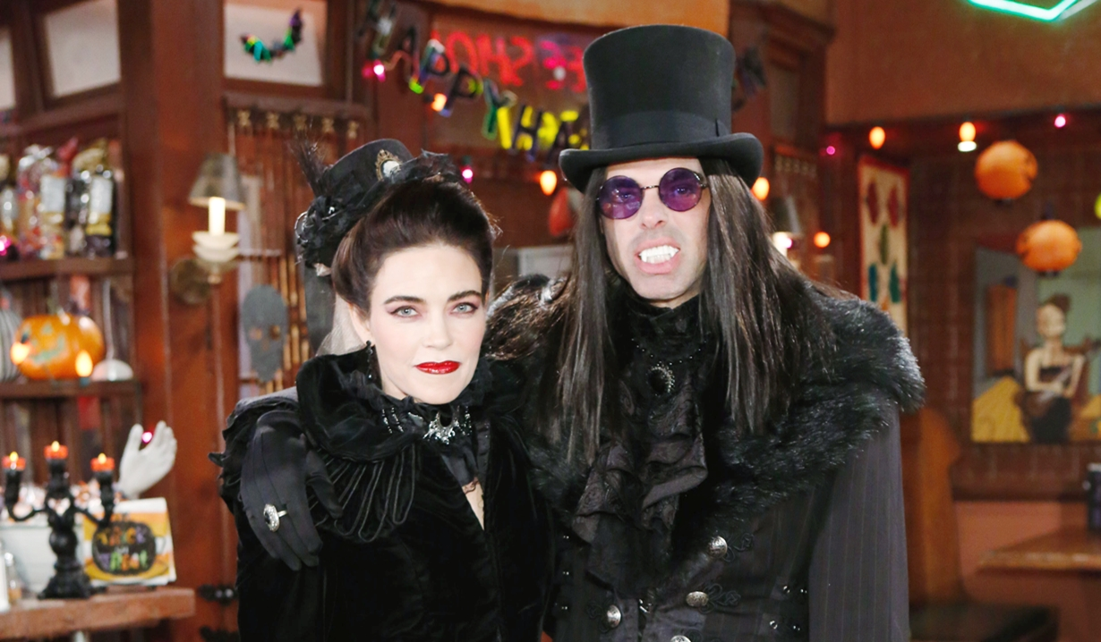 Victoria and Billy Halloween Young and Restless