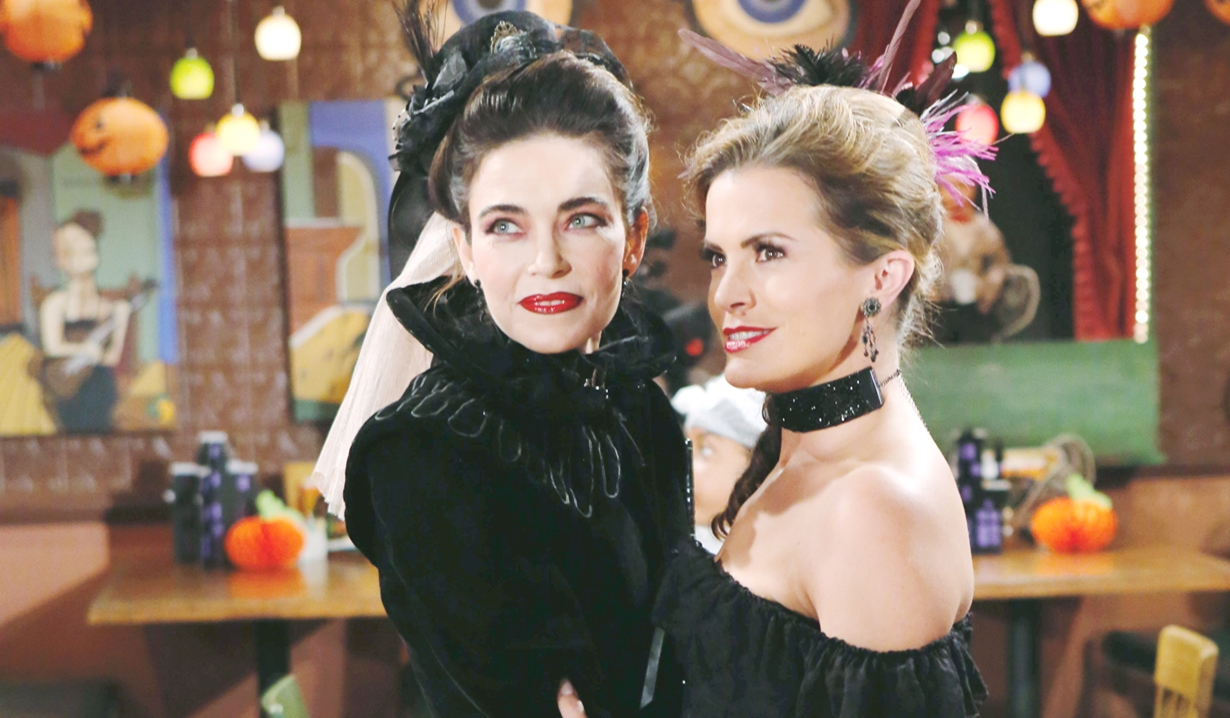 Victoria and Chelsea Halloween Young and Restless