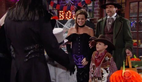 Halloween on Young and the Restless