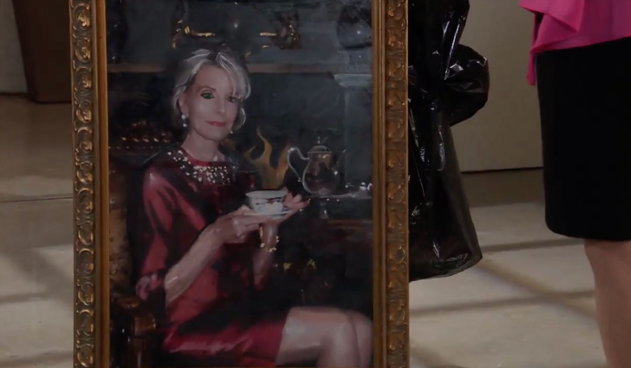 Helena's portrait on General Hospital