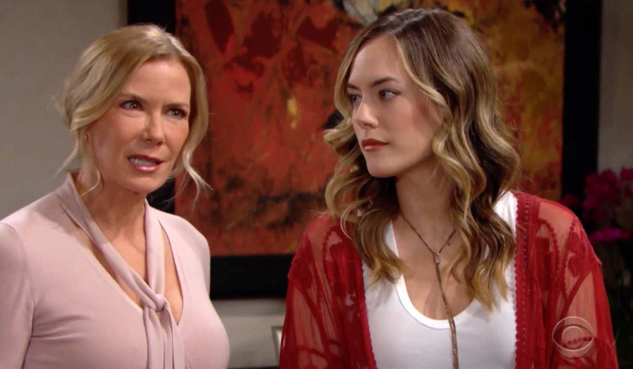 Hope and Brooke custody battle on Bold and the Beautiful