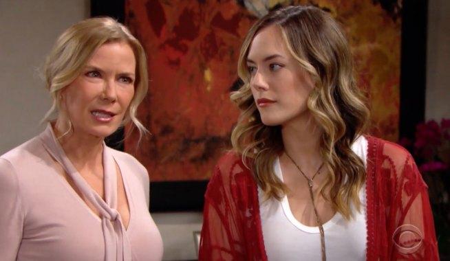 Hope and Brooke custody battle on Bold and the Beautiful