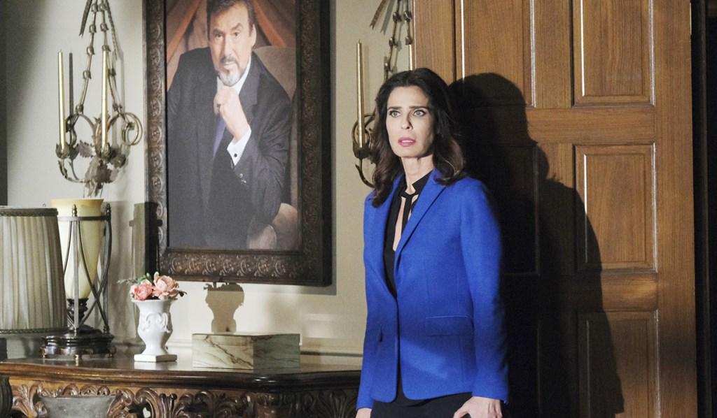 Hope Steals Stefano's Portrait Right Under Gabi's Nose