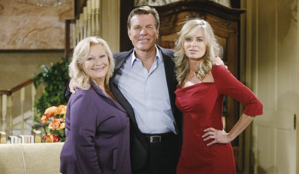 Jack, Traci, Ashley Young and Restless