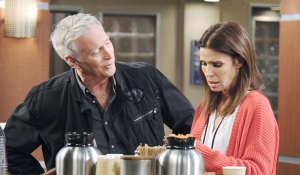 John and Hope in hospital Days of our Lives