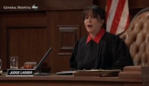 Judge Lasser makes her decision General Hospital