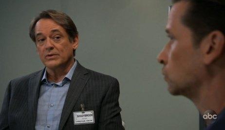 Kevin evaluates Franco on General Hospital