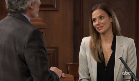 Kim takes the stand on General Hospital