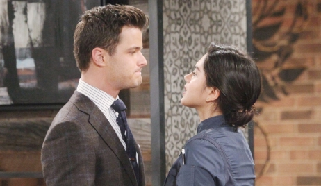 Kyle and Lola disagree Young and Restless