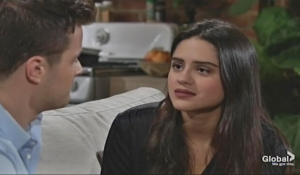Kyle and Lola discuss kids Young and Restless
