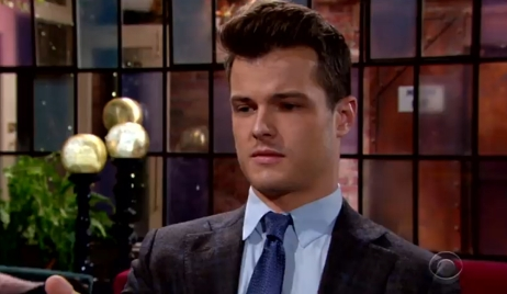 Kyle gives an odd look at Society Young and Restless