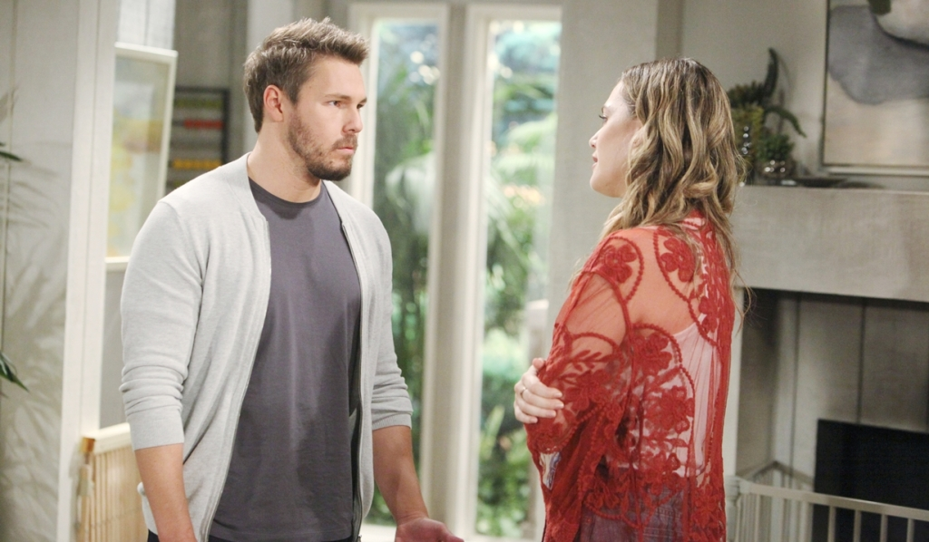 Hope Demands Liam Tell Steffy His Future Is With Her