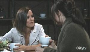 Liz and Hyaden talk motherhood General Hospital