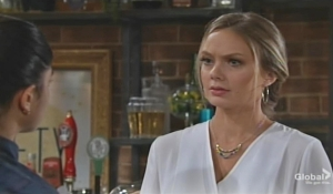 Abby updates Lola Young and Restless