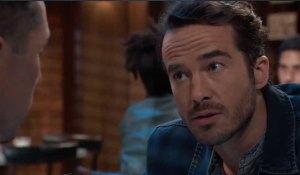 Lucas questions Brad's secrets on General Hospital