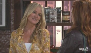 Mariah checks in with Sharon The Young and the Restless