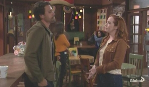 Mariah catches up with Nick The Young and the Restless