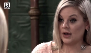 Maxie worries about Nina General Hospital