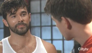 Chase and Michael spar General Hospital