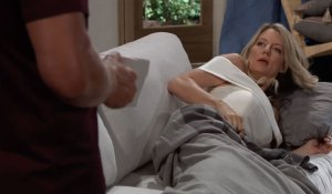 Nina on Jax's couch on General Hospital