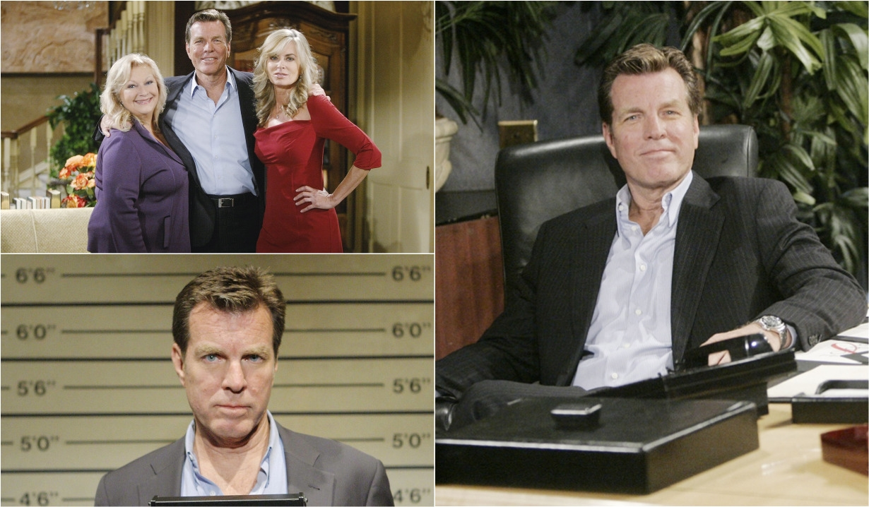 Peter Bergman as Jack Abbott collage Young and Restless