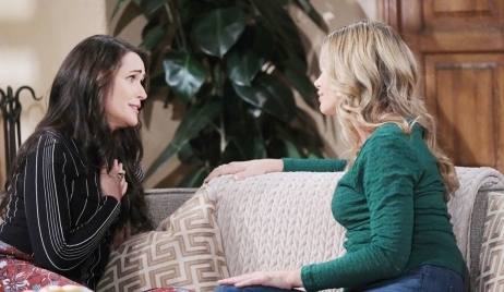 Quinn and Shauna talk about kiss Bold and Beautiful