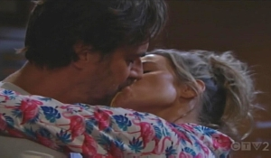 Ridge and Shauna passionate kiss Bold and Beautiful