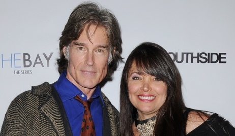 Ronn Moss Devin DeVasquez vow renewal Bold and Beautiful