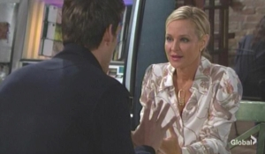 Adam asks Sharon to help with Connor The Young and the Restless
