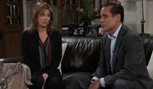 Sonny tells Alexis his hopes General Hospital