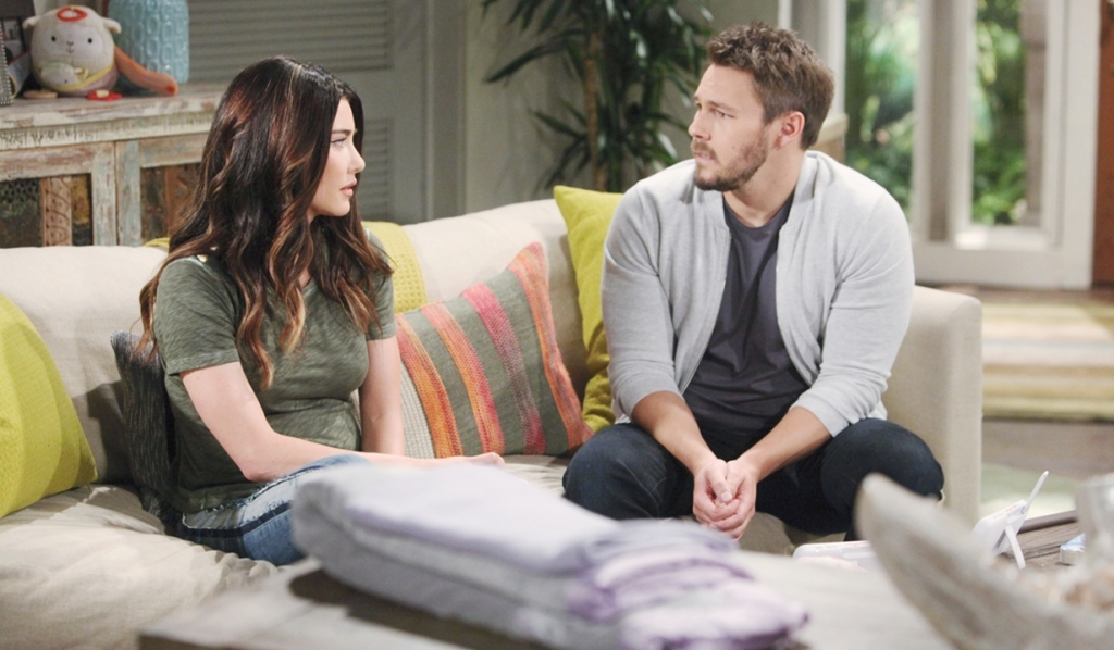 Steffy Wants Future With Liam, and Asks Him If It's Possible