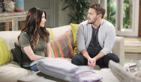 Steffy gets visit from Liam Bold and Beautiful