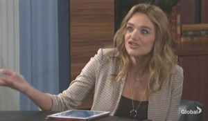 Summer reassures Kyle The Young and the Restless