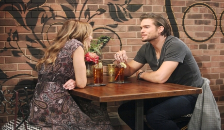 Summer and Theo talk The Young and the Restless