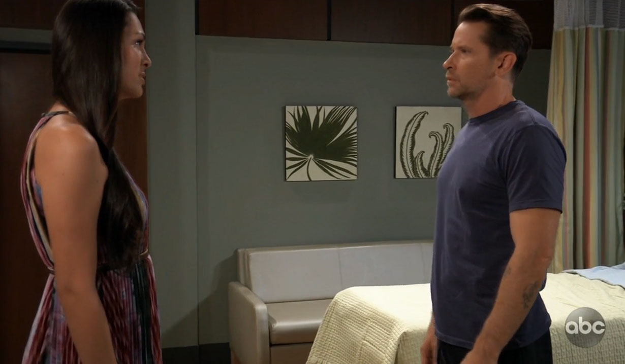 Terry warns Franco about Kim on General Hospital