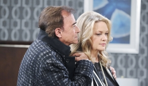 Tony whispers to Anna Days of our Lives