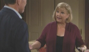 Traci and Jack prepare for their mom The Young and the Restless