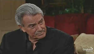 Victor talks to Summer Young and Restless
