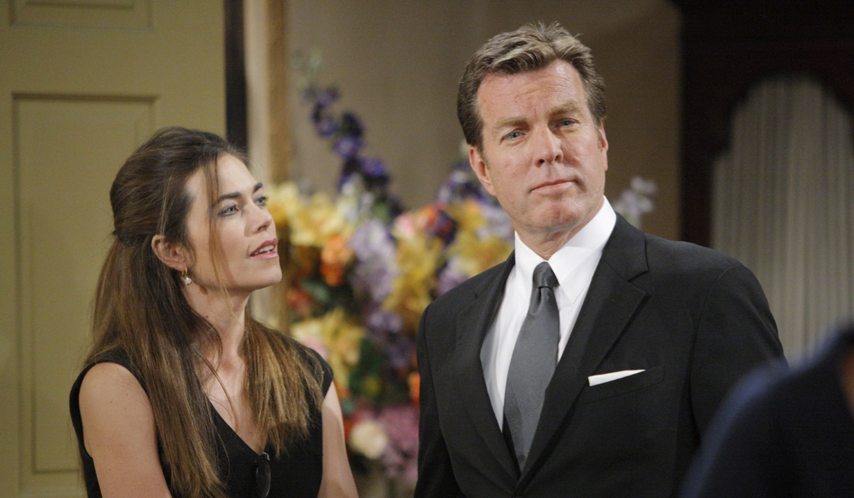 Victoria and Jack throwback on Young and Restless