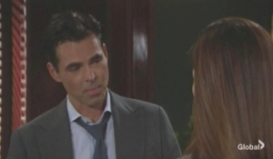 Victoria fills Billy in about Adam The Young and the Restless