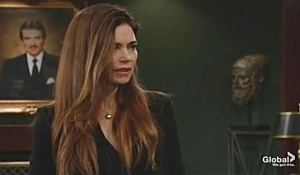 Victoria lays out terms Young and Restless