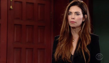 Victoria Warns Victor on Young and the Restless
