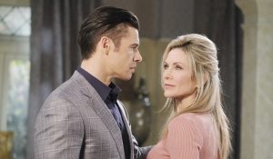 Xander and Kristen at mansion Days of our Lives