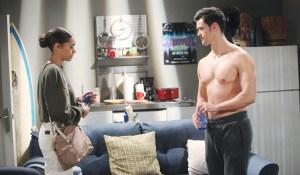 Zoe runs into Thomas Bold and Beautiful