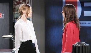 Abby talks with Sylvie on Chad & Abby in Paris