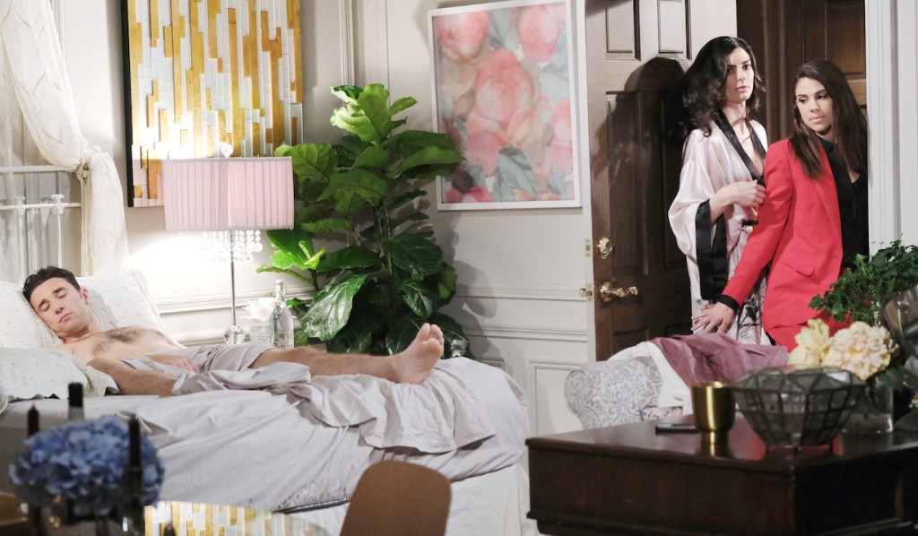 Chad & Abby in Paris: Abigail Finds Chad Naked in Juliette's Bed